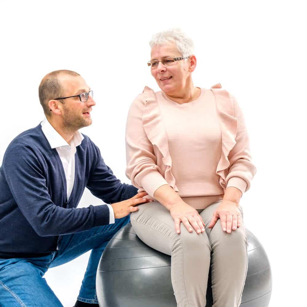 Blijven bewegen is het beste medicijn bij een hernia.